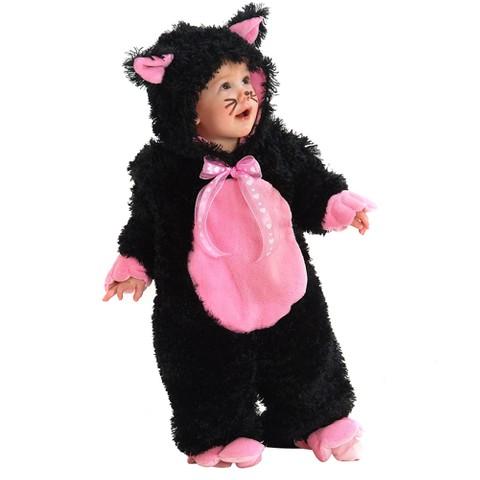 Infant Black Kitty Costume