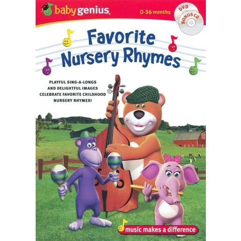 Baby Genius: Favorite Nursery Rhymes (DVD/CD)