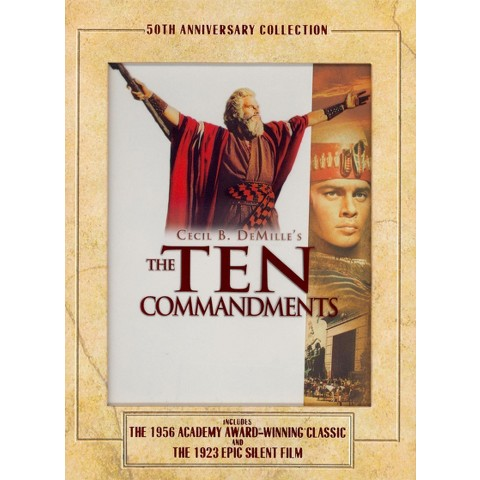 The Ten Commandments: Anniversary Collection (3 Discs) (Anniversary Collec (S) (Widescreen)