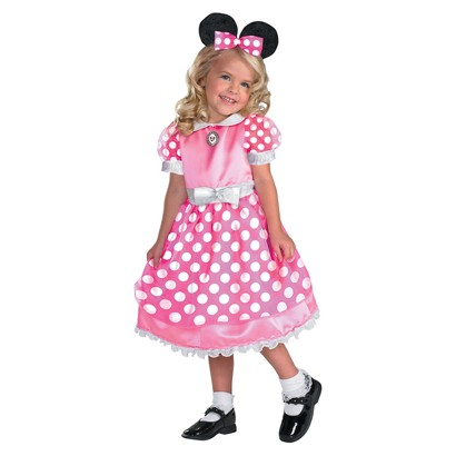 Toddler/Girl's Clubhouse Minnie Mouse Pink Costume