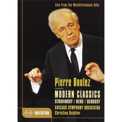 Pierre Boulez Conducts Modern Classics (Widescreen)