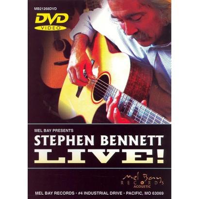Stephen Bennett Live