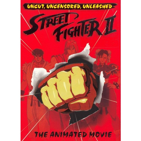 Street Fighter II: The Animated Movie (Widescreen)