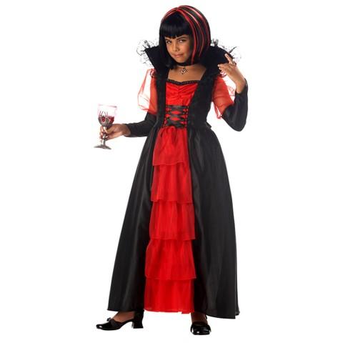 Girls' Regal Vampira Costume