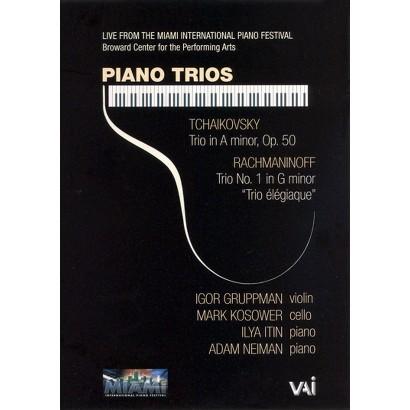 Rachmaninoff/Tchaikovsky: Piano Trios - Igor Gruppman/Mark Kosower/Ilya Itin/Adam Neiman