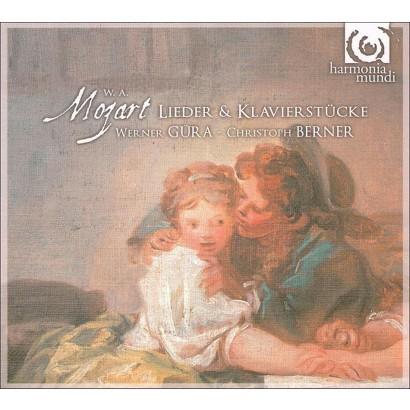 Mozart: Lieder & Klavierstücke (Lyrics included with album, Mix Album)