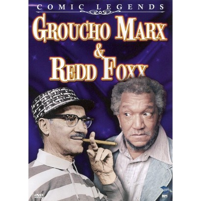 Groucho Marx and Redd Foxx