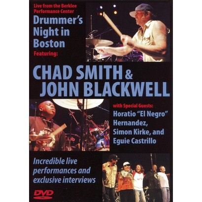 Chad Smith & John Blackwell: Drummer's Night in Boston