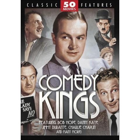 Comedy Kings 50 Movie Pack (12 Discs)
