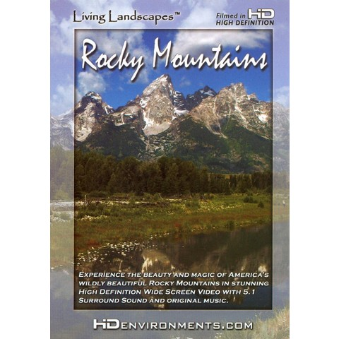 Living Landscapes: Rocky Mountains (Widescreen)