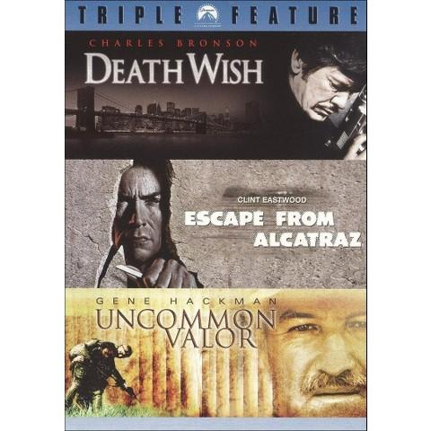Death Wish/Escape from Alcatraz/Uncommon Valor (3 Discs) (Widescreen)