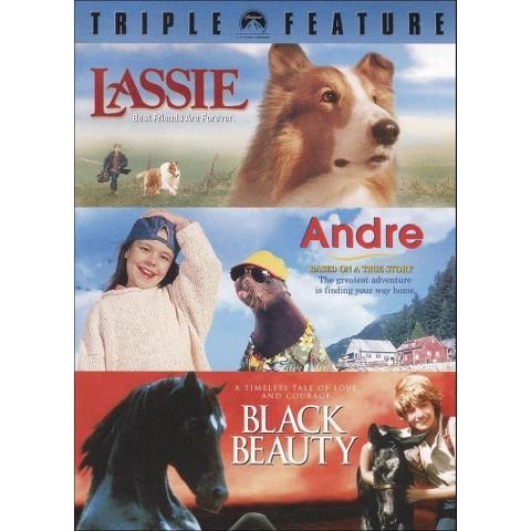 Lassie/Andre/Black Beauty  (3 Discs)