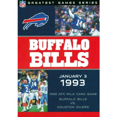 NFL Game Archives: Buffalo Bills vs. Houston Oilers 1993 AFC Playoffs (Greatest Game Series)