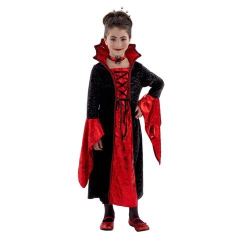 Girl's Dracula Costume