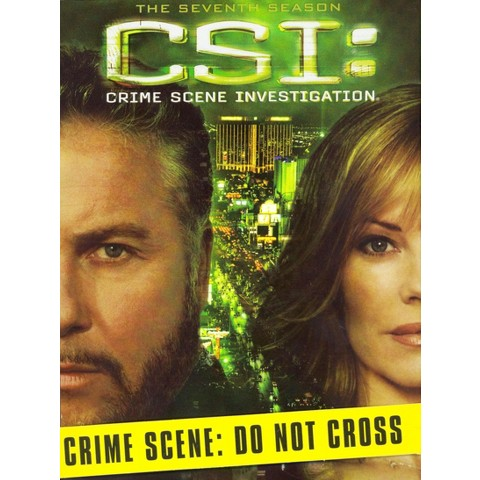 CSI: Crime Scene Investigation - The Seventh Season [7 Discs]