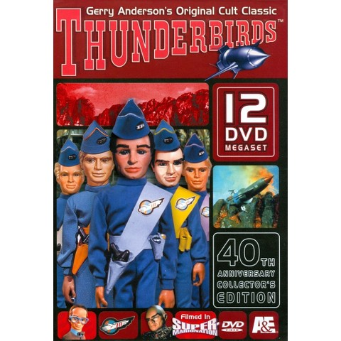 The Complete Thunderbirds Megaset (40th Anniversary Collector's Edition) (12 Discs) (Bonus DVD)