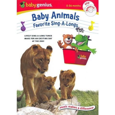 Baby Animals: Favorite Sing-A-Longs (DVD/CD)