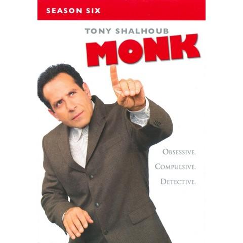 Monk: Season Six (4 Discs)