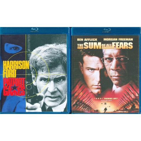 Patriot Games/Sum of All Fears (Blu-ray)