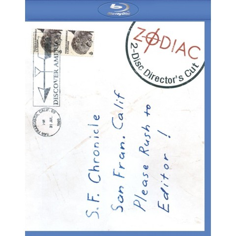 Zodiac  (2 Discs) (Blu-ray) (D)