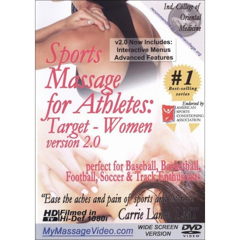 Sports Massage for Athletes: Target - Women, Vol. 2