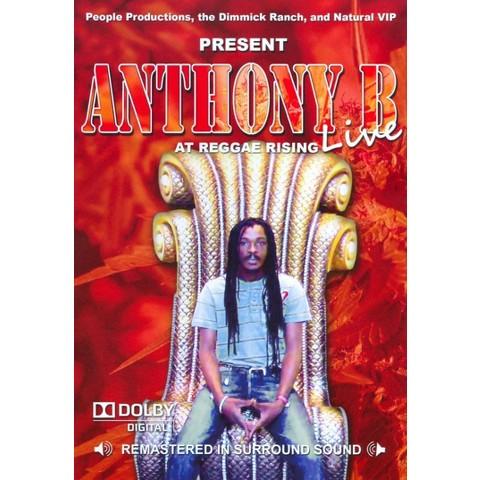 Anthony B: Live at Reggae Rising (R)