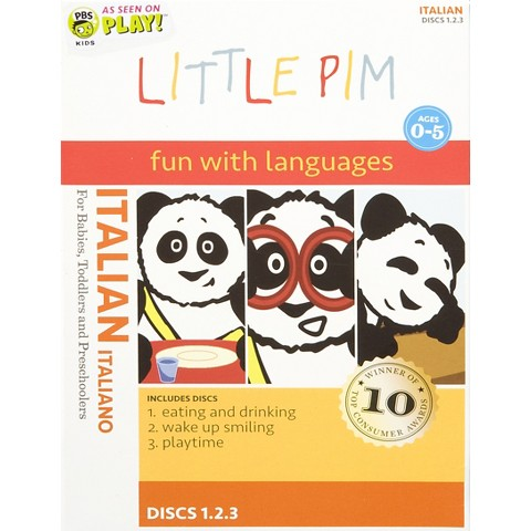 Little Pim: Italian (3 Discs)