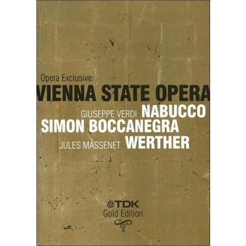 Vienna State Opera: Opera Exclusive (3 Discs)