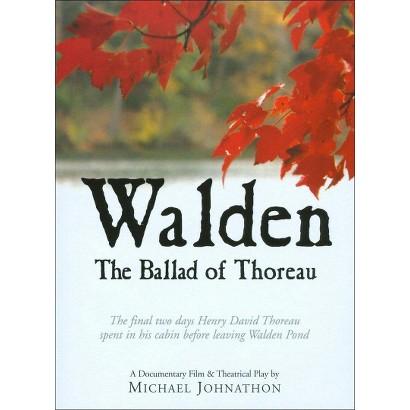 Walden: The Ballad of Thoreau (DVD/CD)