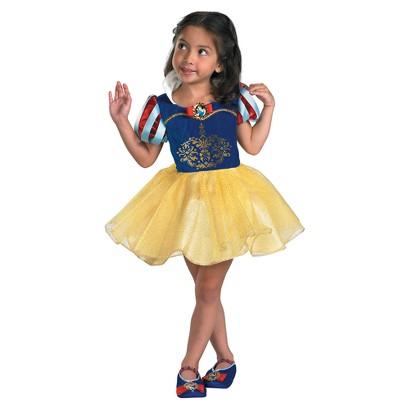 Toddler Girl Snow White Ballerina Classic Costume