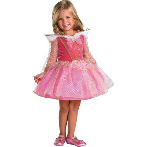 Toddler Girl Aurora Ballerina Costume