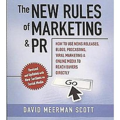 New Rules of Marketing & Pr (Compact Disc)