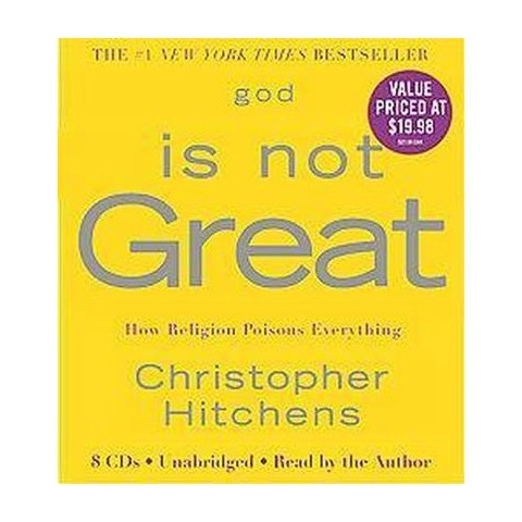 God Is Not Great (Unabridged) (Compact Disc)