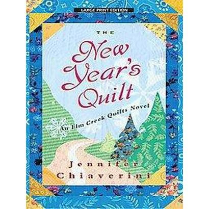 The New Year's Quilt (Large Print) (Paperback)