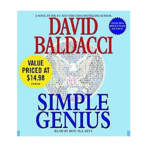 Simple Genius (Abridged) (Compact Disc)