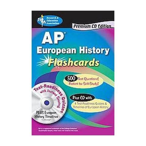 AP European History Flashcards (Premium) (Mixed media product)