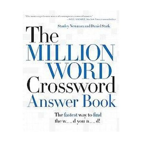 The Million Word Crossword Answer Book (Reprint) (Paperback)