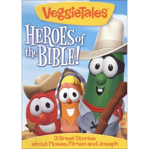 Veggie Tales: Heroes of the Bible! - 3 Great Stories about Moses, Miriam and Joseph