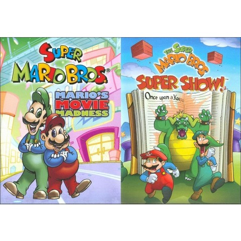 The Super Mario Bros.: Mario's Movie Madness/Super Mario Bros. Super Show!: Once Upon a Koopa (2 Discs)