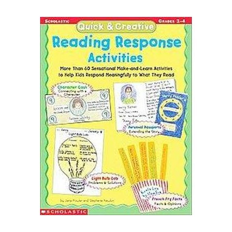 Quick & Creative Reading Response Activities (Teacher's Guide) (Paperback)