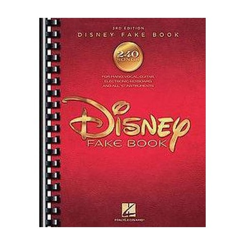 Disney Fake Book (Paperback)