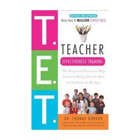 Teacher Effectiveness Training (Reprint) (Paperback)