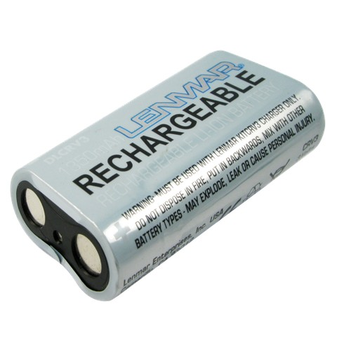 Lenmar Replacement for Kodak, Olympus Photo Batteries - Black (DLCRV3)