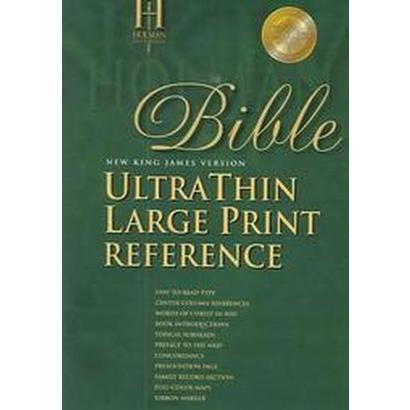 Nkjv Ultrathin Large Print Reference Bible (Thumbed) (Paperback)