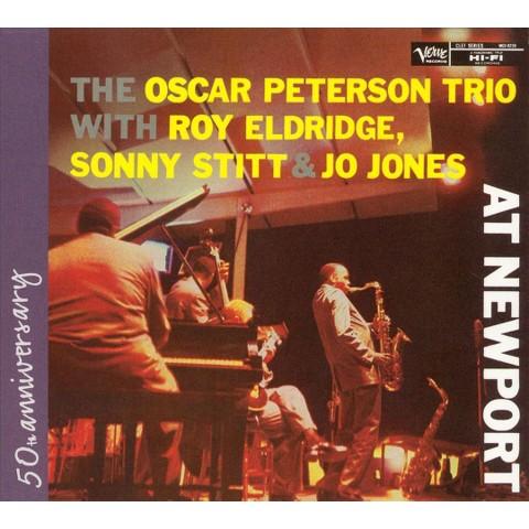 Roy Eldridge, Sonny Stitt and Jo Jones at Newport