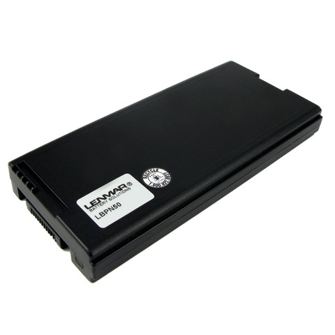 Lenmar Battery for Panasonic Laptop Computers - Black (LBPN50)