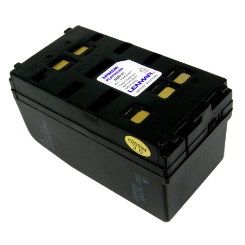 Lenmar Replacement Battery for Sony, Panasonic Camcorders - Black (NMP41)