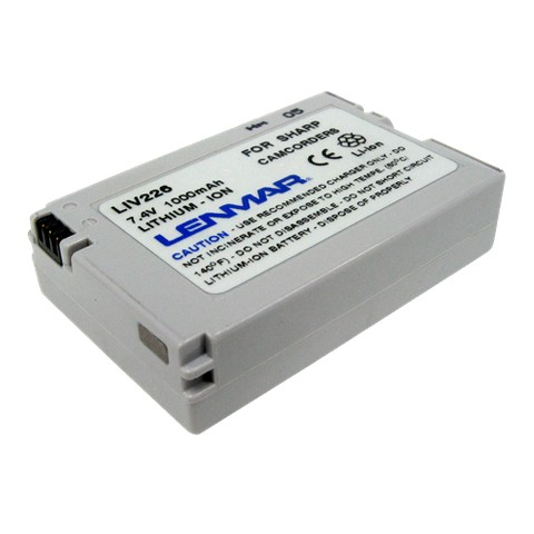 Lenmar Battery replaces Sharp BT-L226U, BT-L226 - Camcorder Battery