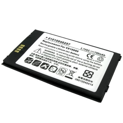 Lenmar Replacement Battery for LG Cellular Phones - Black/White (CLLG901)