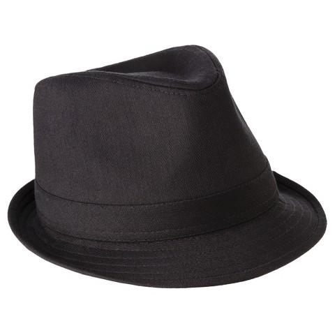 Men's Fedora Black